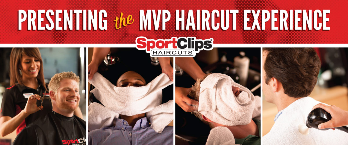 The Sport Clips Haircuts of Danforth Plaza MVP Haircut Experience